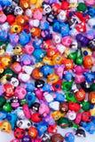 Grande gruppo di giocattoli dell'argilla Fotografia Stock Libera da Diritti