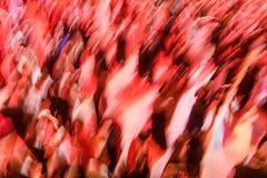 Grande gruppo di persone che ballano ad una palla Fotografie Stock Libere da Diritti