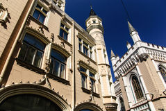Grande guilde gothique, Riga, Lettonie Image libre de droits