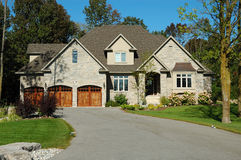 Grande HOME Fotografia de Stock Royalty Free