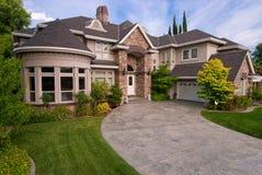 Grande HOME feita sob encomenda Fotos de Stock Royalty Free