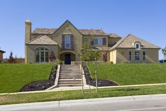 Grande HOME luxuoso Foto de Stock