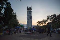 Grande horloge de Bukittinggi Image libre de droits