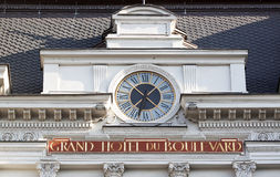 Grande hotel du boulevard Fotografia Stock