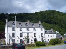 Grande hotel scozzese in Perthshire Fotografie Stock