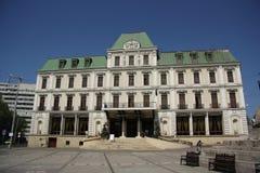 Grande hotel Traian in Iasi (Romania) Immagini Stock Libere da Diritti