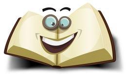 Grande icône de caractère de livre Images libres de droits
