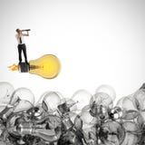 Grande idée d'affaires rendu 3d Image libre de droits