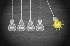 Grande idée et concept de créativité illustration libre de droits