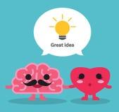 Grande idea royalty illustrazione gratis