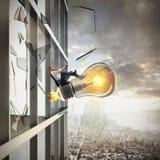 Grande idea di affari rappresentazione 3d Immagine Stock