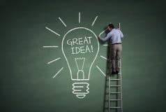 Grande ideia Foto de Stock