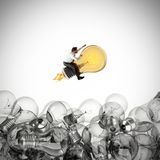 Grande ideia do negócio rendição 3d Imagem de Stock Royalty Free