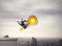 Grande ideia do negócio rendição 3d Foto de Stock