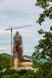 Grande immagine del Buddha Immagine Stock