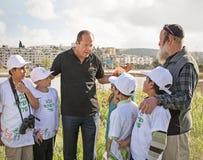 Grande inauguração do parque do vale da gazela no Jerusalém Imagens de Stock Royalty Free