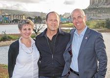 Grande inauguração do parque do vale da gazela no Jerusalém Fotos de Stock Royalty Free