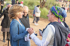 Grande inauguração do parque do vale da gazela no Jerusalém Fotografia de Stock