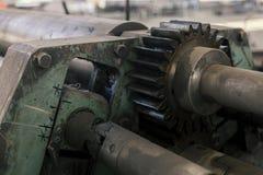 Grande ingranaggio del metallo Immagini Stock
