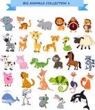Grande insieme della raccolta degli animali royalty illustrazione gratis