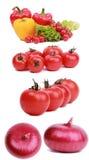 Grande insieme delle verdure della vitamina Fotografia Stock Libera da Diritti
