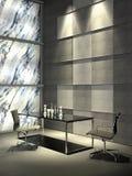 Grande interiore minimalista Immagini Stock Libere da Diritti