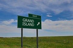Grande isola Fotografia Stock Libera da Diritti
