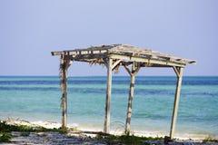 Grande isola di Bahama del Gazebo Fotografia Stock Libera da Diritti