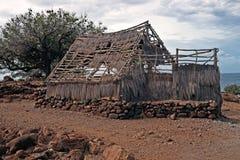 Grande isola di Puukohala Heiau dell'Hawai Fotografia Stock Libera da Diritti
