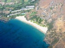 Grande isola di scena hawaiana fotografia stock libera da diritti