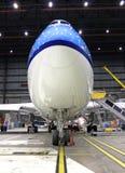 Grande jet del radiatore anteriore Fotografie Stock Libere da Diritti