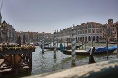 grande kanałowy Wenecji fotografia stock