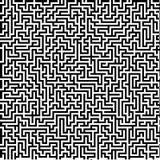 Grande labirinto dettagliato Fotografia Stock Libera da Diritti