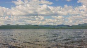 Grande lago Fotografie Stock Libere da Diritti