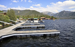 Grande lago Colorado Immagini Stock