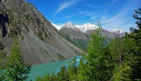 Grande lago dello shavlinskoe fotografia stock