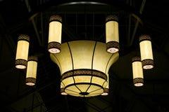 Grande lampada Fotografia Stock