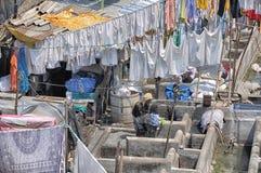 Grande lavanderia Mumbai Immagini Stock