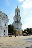 Grande Lavra Belltower, Kiev Immagini Stock