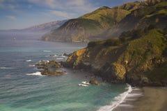 Grande linea costiera di Sur Fotografia Stock Libera da Diritti
