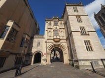 Grande loge du portier (Abbey Gatehouse) dans Bristol image stock