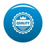Grande logo di qualità, stile semplice Fotografie Stock Libere da Diritti