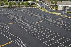 Grande lote de estacionamento Imagens de Stock