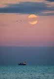 Grande lune photographie stock libre de droits
