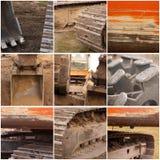 Grande macchinario edile Fotografie Stock