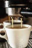 Grande machine de café photos stock