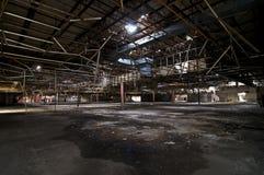 Grande magazzino abbandonato Fotografia Stock Libera da Diritti