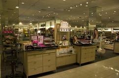 Grande magazzino cosmetico Fotografie Stock Libere da Diritti