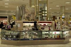 Grande magazzino cosmetico fotografia stock
