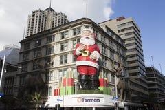 Grande magazzino degli agricoltori in via della regina, Auckland, Nuova Zelanda Fotografia Stock Libera da Diritti